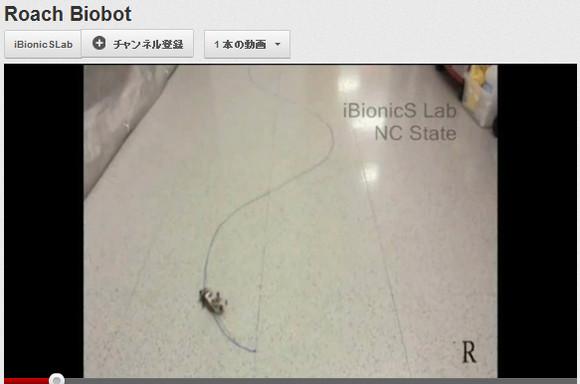 人類最終生物兵器か! 生きたゴキブリにマイコンを搭載し自由自在にコントロールする技術
