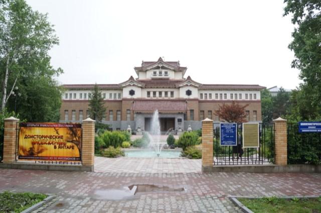 【サハリン/樺太】日露国境に置かれていた国境標石が人気 / サハリン州立郷土博物館に行ってみた
