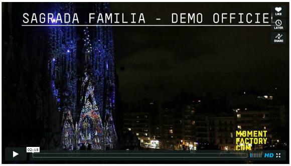"""世界を魅了し続ける教会! スペインの世界遺産サグラダ・ファミリアの """"光の変身"""" が美しすぎると話題に!!"""