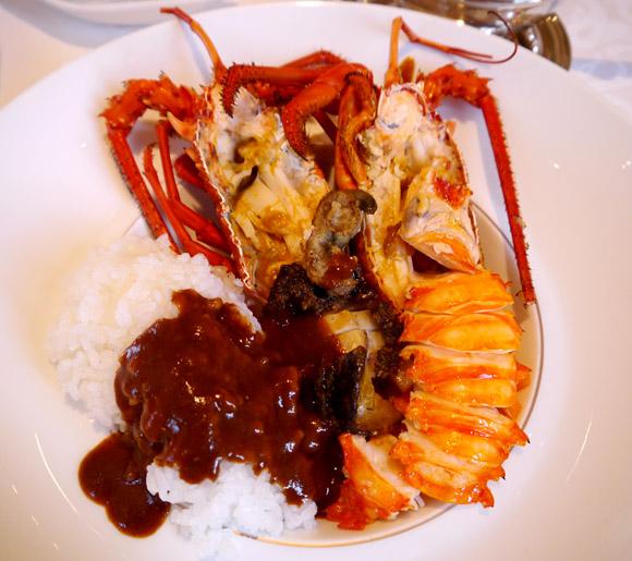 国内最高峰の価格「1万円カレー」を食べてみた / 伊勢海老の存在感がスゴくてカレーが完全にオマケ (笑)