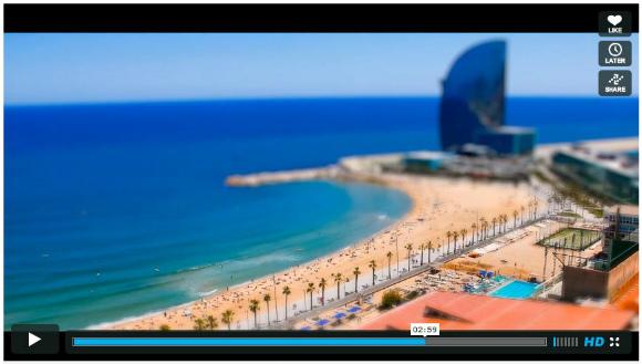 これを見ればスペインに行きたくなる! スペインの夏をミニチュア風に撮影したキュートで美しい動画が話題に!!