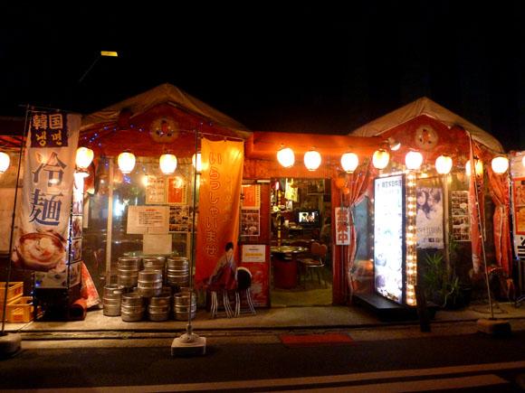 本場韓国の屋台を再現した大衆居酒屋で雰囲気に酔いしれる / 横浜・赤いとんがらし
