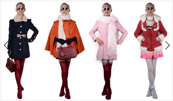 72才の祖父が女装をして店のモデルに / ネット上で拡散して店の売り上げは爆伸び
