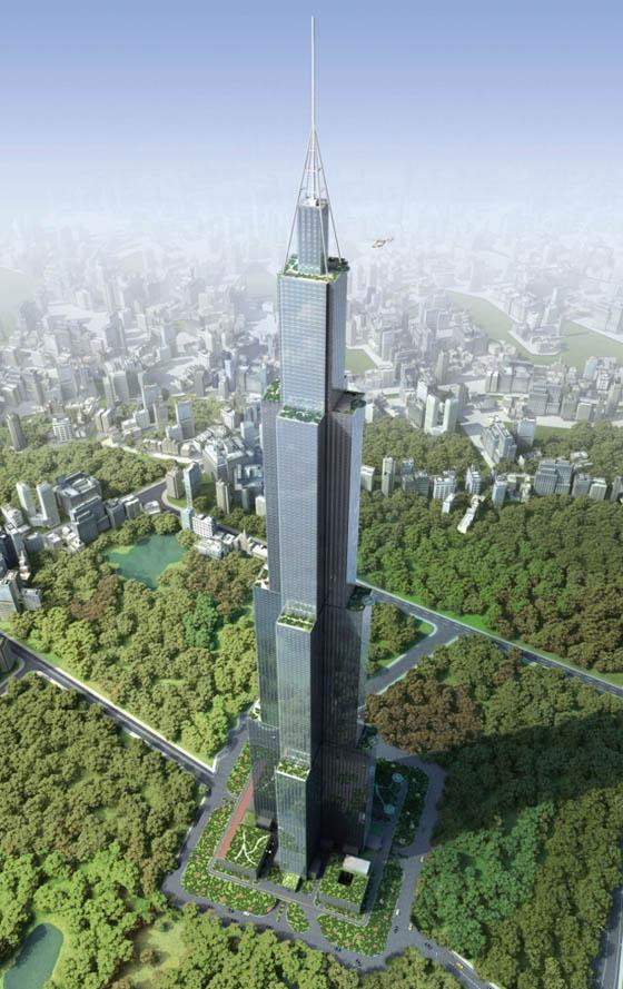 """中国・建設会社「世界一高いビルを建てるアル! 工期は90日間! 名前は""""天空の城""""!」 / 有識者「技術的に厳しい」"""
