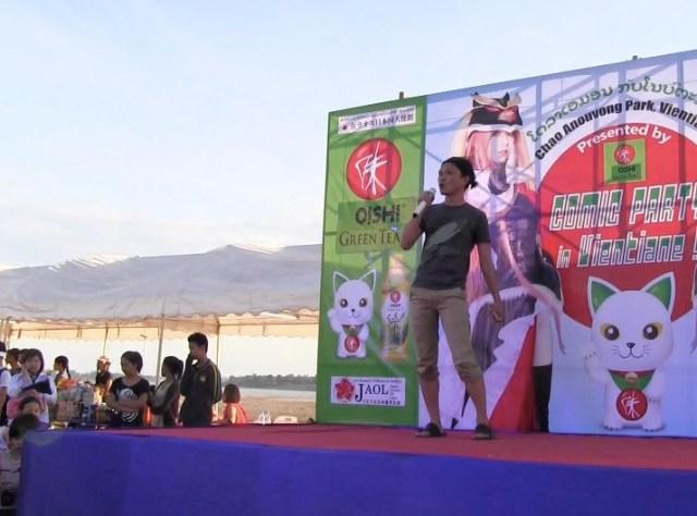 【現地取材】ラオスのアニソン大会に出場して『今日もどこかでデビルマン』歌ったら会場が静まり返った / ラオス人の日本語アニソンは超絶うまい!