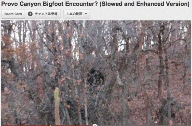 【衝撃UMA映像】ユタ州でビッグフットらしき生物が撮影される