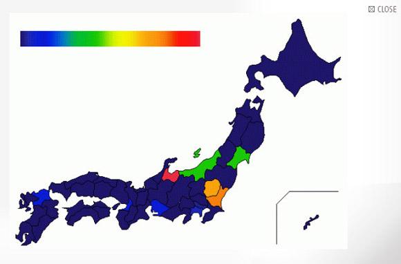 Twitterで「クリぼっち」ともっともつぶやいたのは富山県民であることが判明 / しかも全部男!