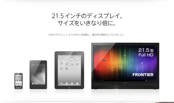 世界最大級のタブレット端末『Smart Display』爆誕! 画面サイズは従来の倍! 重量は7倍ッ!!