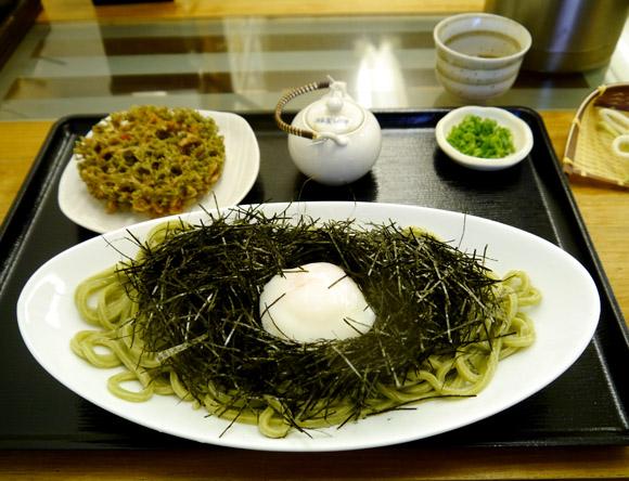 【限定7食】海苔どっさり! 東京・中目黒の隠れ家的うどん屋『sugita』の海苔ぶっかけが激ウマ!!