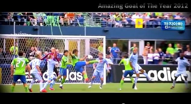 【衝撃サッカー動画】驚愕の芸術的ゴール2012年版ベスト50