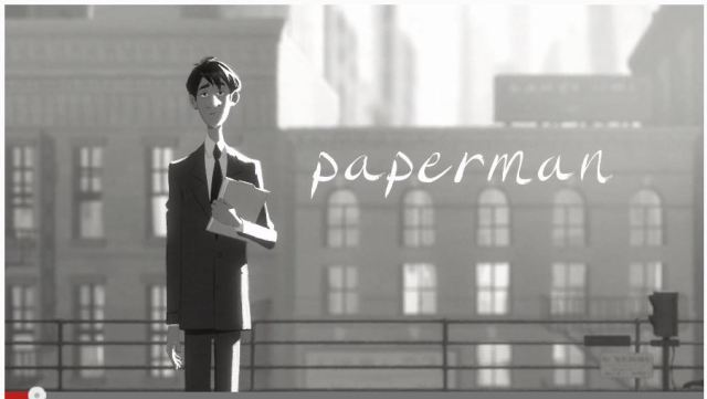 これタダで観ちゃっていいの!? アカデミー短編アニメ賞候補のディズニーアニメ『Paperman』がフル公開される‼