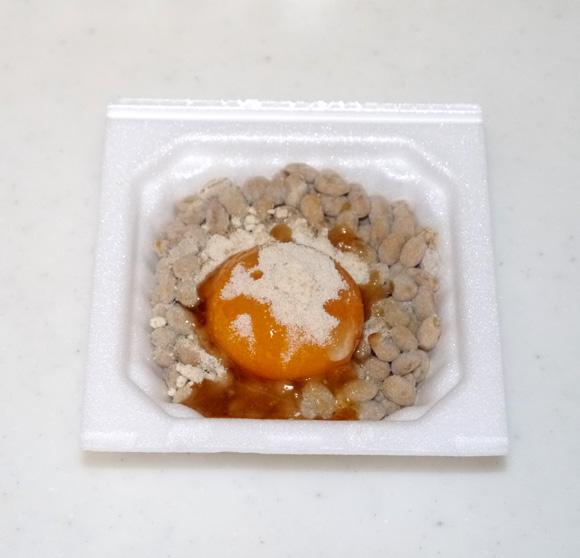 【トリビア】北海道の人は納豆に卵黄と砂糖をかけて食べる