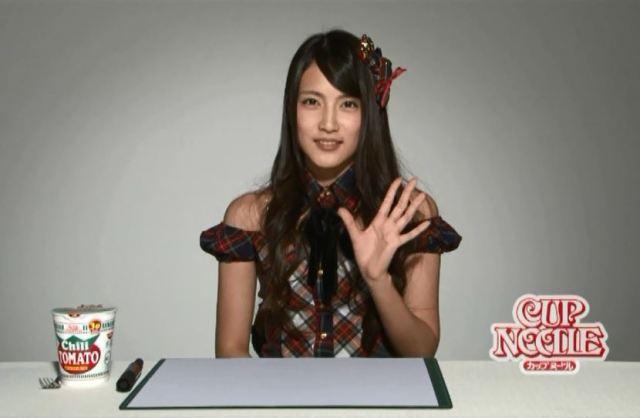 【ダイヤの原石】カップヌードル「ふ~ふ~ムービー」に登場するAKB48入山杏奈と加藤玲奈が異常にカワイイ件