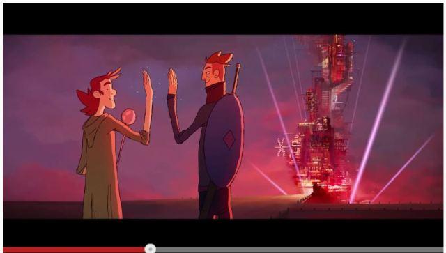 デンマークの学生が制作! 「宝物を求め冒険に出る2人の男」を描いたアニメーションが海外で大注目を集める!!