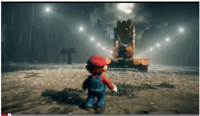 超リアルなクッパも登場! 一人称視点で難関ステージをプレイするマリオ動画がマジで面白い!!