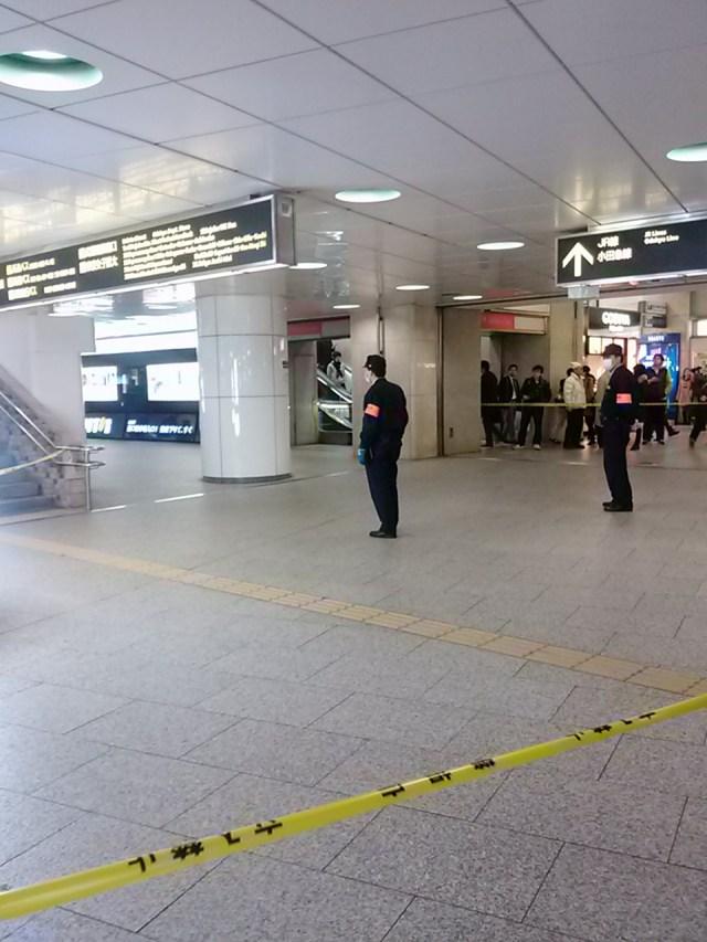 2月22日東京・新宿駅に爆破予告 / 新宿駅西口のコインロッカーに不審物