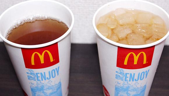 【徹底比較】ファストフード店の「氷抜きドリンク」は「氷あり」より多いのか? 少ないのか?