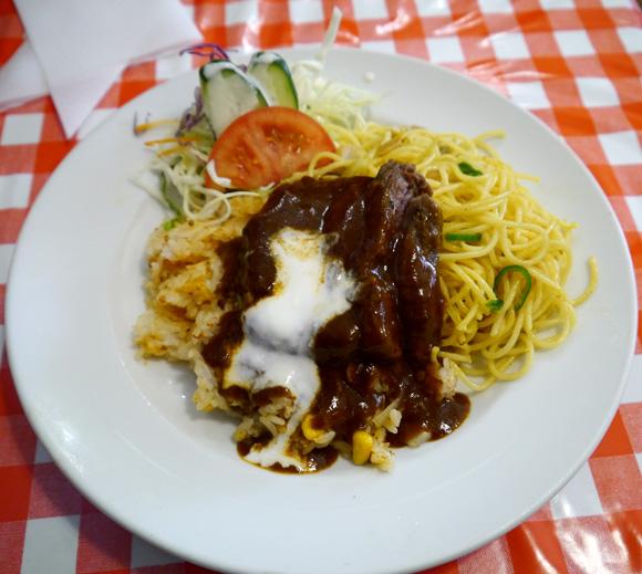 【長崎グルメ】トルコライスをトルコ風にアレンジした「トルコ風トルコライス」を食べてみた