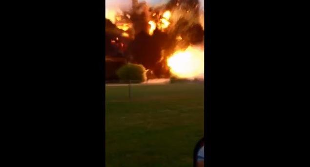 【衝撃映像】米テキサスで発生した大規模な爆発がヤバすぎる