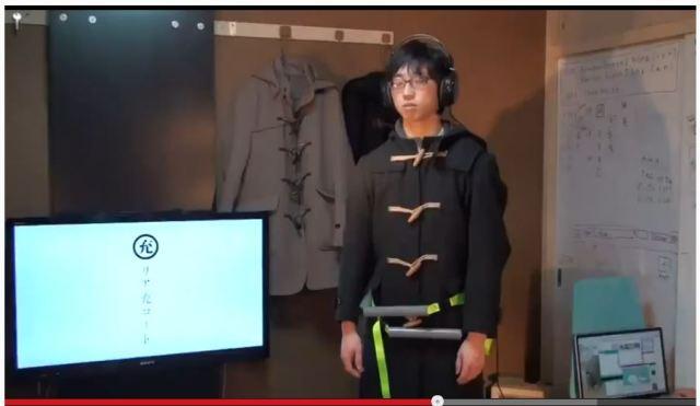 日本の学生が作った『女子に抱きしめられる感覚が味わえるコート』に世界が驚愕! 「日本よ、またやっちまったな」