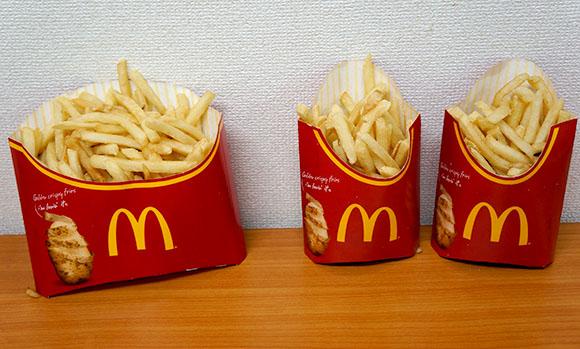 【検証】マクドナルドの『メガポテト』がマックフライポテトLサイズ2個分より多くて笑った