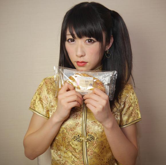 【コンビニ美少女】手包みアップルパイ / サークルKサンクス