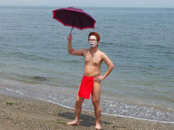 【社会人必見】今年の流行のおしゃれクールビズは「ふんどし」と「日傘」なので早速取り入れてみた
