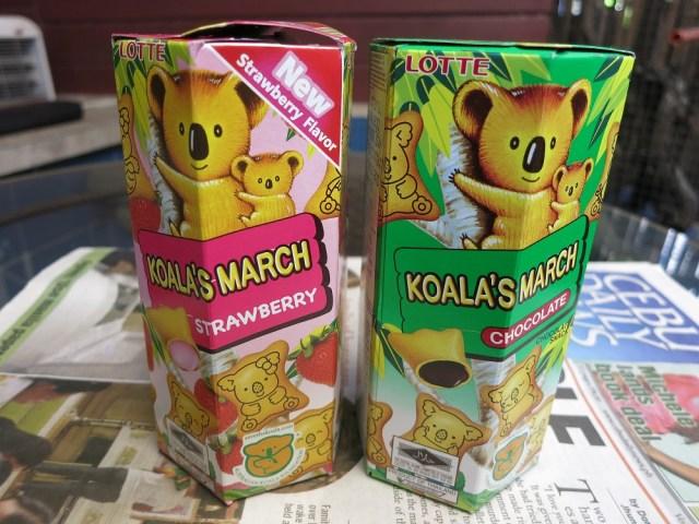 【まめ知識】フィリピンの『コアラのマーチ』が日本より9グラムも軽い理由