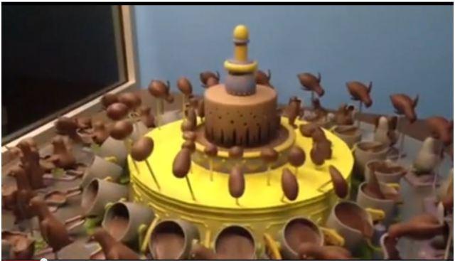 【お菓子の魔法】チョコレートに命が吹き込まれる瞬間を映した動画が素敵すぎる!