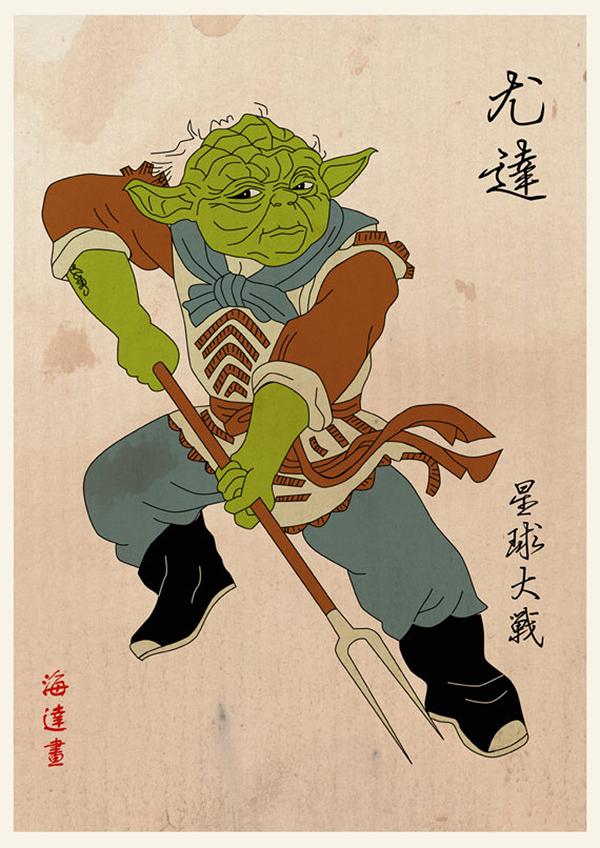 まるで三国志! 中国武将風の『スター・ウォーズ』が激カッコイイと話題に