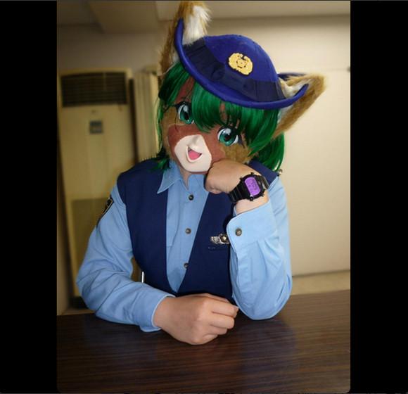 警視庁犯罪抑止対策本部に登場した萌えキャラ『テワタサナイーヌちゃん』がいろんな意味で凄すぎる件