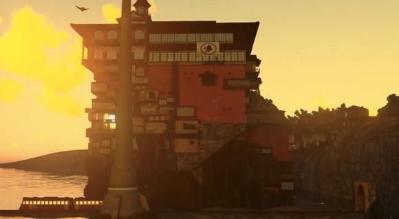 【ジブリ】映画『千と千尋の神隠し』の世界をフル3DCG で完全再現した動画がマジでスゴイ!!