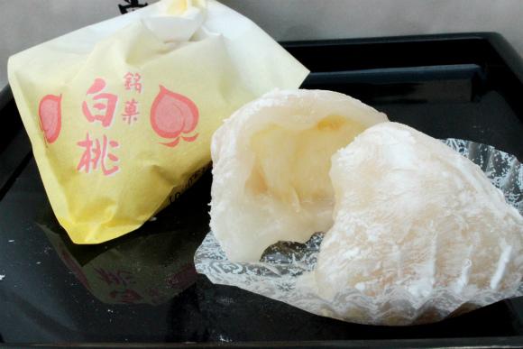 【幻の和菓子】大阪・堺市 『一心堂』 の「白桃大福」は果汁がほとばしる信じられないウマさ