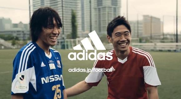 【衝撃サッカー動画】アディダスが公開した「香川vs俊輔」のサッカー対談動画が最高にイイと話題