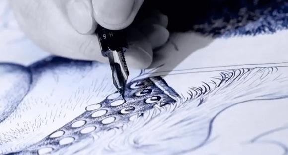 【必見】「万年筆一本でここまで描けるのか!」と思ってしまう動画がマジやばい