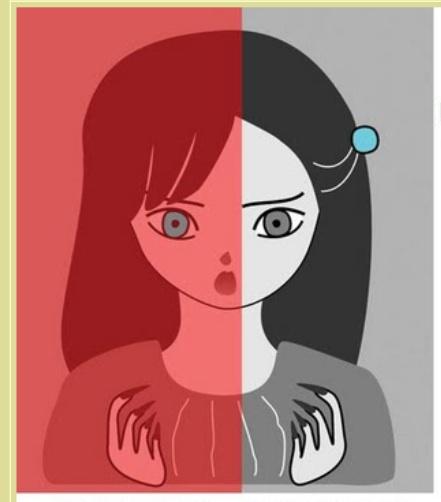 「明らかに違う!」と思いきや実は両目の色が同じという画像 / あなたにはどう見える?