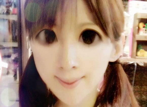 中国の画像加工アプリを使ったら「中国のトンガリ系美少女」になって笑った