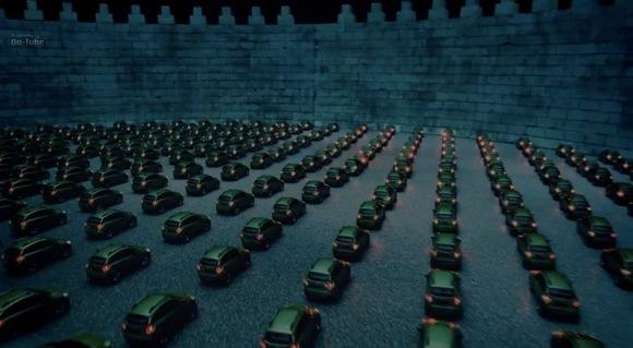 【必見動画】今回は光に注目! スバルの「ぶつからないミニカー動画」の新作が幻想的でマジすごい