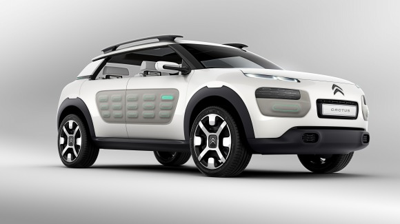 シトロエンの新型SUVコンセプト『カクタス』が超絶カッコ良すぎる件 / 燃費もリッター33.3km以上と日本でバカ売れの予感