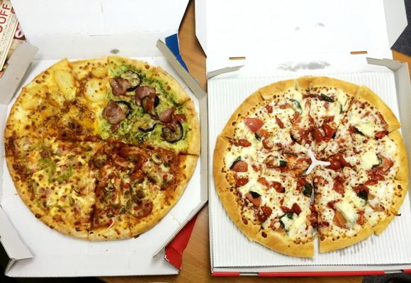 【激安速報】ピザハットもドミノもピザ半額! この際だから両社に「いちばんいいのを頼む」と注文してみた