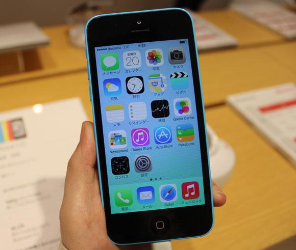 """iPhone5c を触ってみた / これはアリ! """"廉価版"""" と呼ぶのはもったいないレベル"""