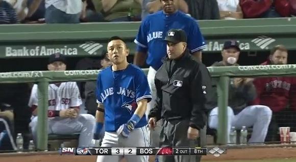 【衝撃野球動画】川崎ムネリンが試合中に珍しくブチギレまさかの退場 / ネットの声「完全にセーフ」