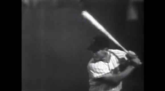 【伝説野球動画】とても一昔前とは思えないスイングをする伝説のバッター・榎本喜八さん