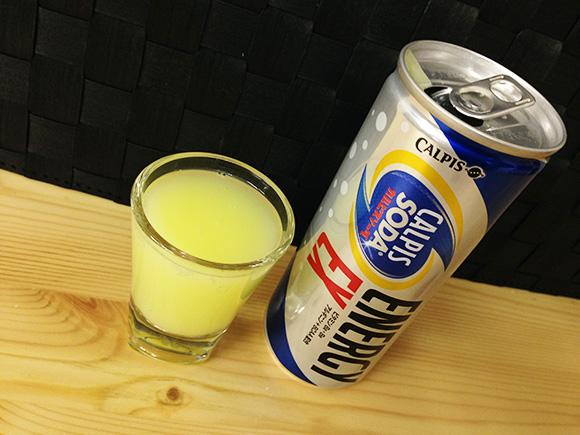 【エナジー速報】カルピスのエナジードリンク『カルピスソーダ エナジーEX』を飲んでみた