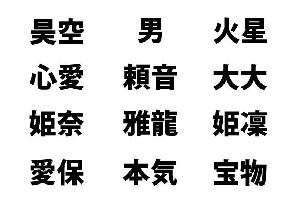 最近のキラキラネームが難解すぎて想像力を働かせても読み解けない 「美望」「男」「黄熊」「姫凜」など