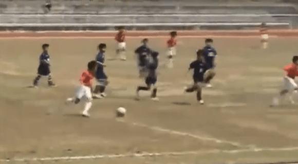 【衝撃サッカー動画】レアル・マドリードの下部組織に日本人初の入団をした9歳の少年とは