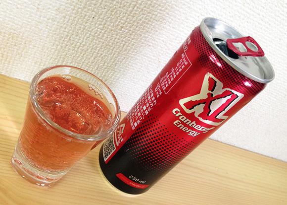 【エナジー速報】ポーランドのエナジードリンク「エクセルクランベリーエナジー」を飲んでみた