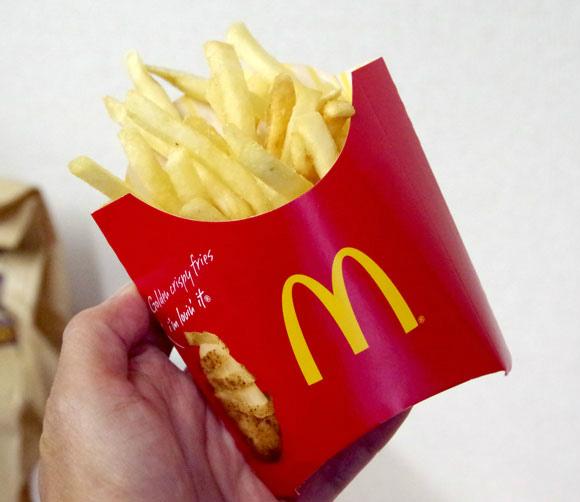 家にいながらマクドナルドメニューを注文できる「マックデリバリー」を試してみた / 店内購入レベルのほかほかポテトがきて感動
