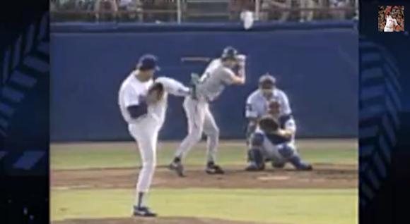 【伝説野球動画】「ライアン小川」こと小川泰弘投手がフォームを手本にしているノーラン・ライアン氏の野球人生