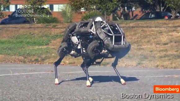 Googleが買収した会社が開発している軍事用ロボットがすごい!! 見た目は『ゾイド』!!
